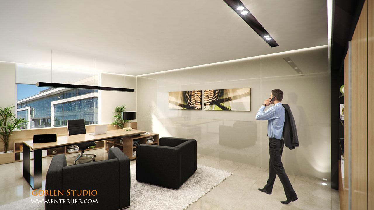 Poslovni prostor u rusiji enterijer for Enterier dizajn